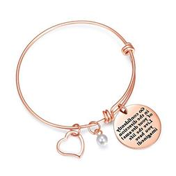 Sunflower Jewellery Rose Gold Charm Bracelet Go Confidently