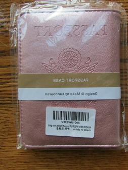 Rose Gold Passport Cover Holder - Brand New in Package * Emb