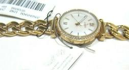 Fossil Rose Gold Stainless Chain Link Self Adjust Watch Mini