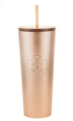 rose gold stainless steel cold cup venti