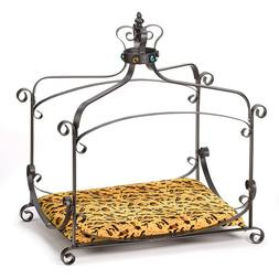 Royal Splendor Pet Metal Canopy Bed Small Dog Cat Puppy by F