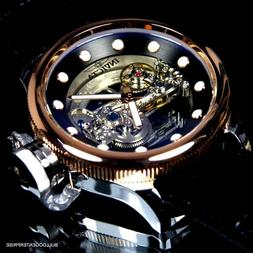 Invicta Russian Diver Ghost Bridge Rose Gold Plated Automati