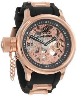 Invicta Russian Diver Skeletonized Automatic Model 1090 Blac