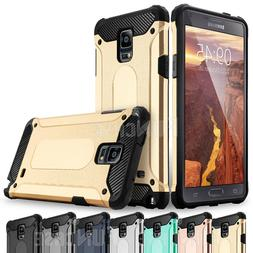 For Samsung Galaxy Note 9 3 4 Rugged Silicone Rubber Shockpr