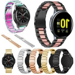 For Samsung Galaxy Watch Active 2 40 44mm Watch Band Stainle