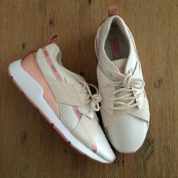 Size 8 Women's PUMA Muse X-2 Casual Shoes 370838-03 Pink Ros