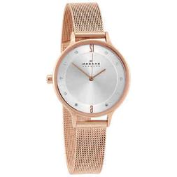 Skagen Women's 'Klassik' Quartz Stainless Steel Dress Watch,