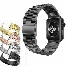 Stainless Steel Metal Replacement Band for Apple Watch Serie