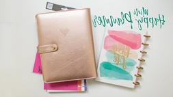 Create 365 The Happy Planner MINI Deluxe Cover - Rose Gold B
