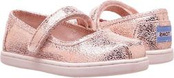 Toms Tiny Mary Jane Novelty Textile Flat, Size: 6 M US Toddl