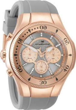 Technomarine TM-118139 Cruise Men's 45mm Rose-Tone Grey Rose