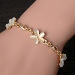 Trendy Jewelry Rose Gold Cute Bracelets Bangle for Women Chi