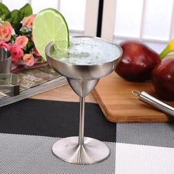 Various Stainless Steel Margarita Goblets Martini Wine Drink