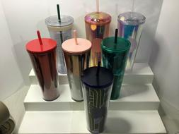 VARIOUS Starbucks VENTI IRIDESCENT RED, CLEAR, ROSE SPARKLE
