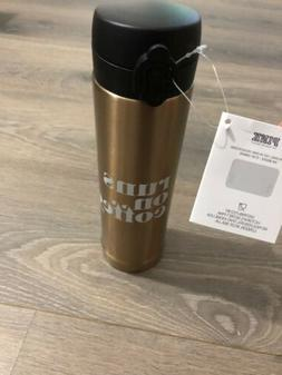 Victoria's Secret PINK Thermos Rose Gold Travel Mug