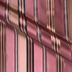 vintage rose gold french stripe sateen upholstery
