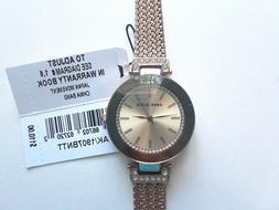 Anne Klein Watch $110 Rose Gold Tone New Over Stock With Out