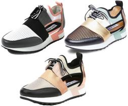 Steve Madden Women's Arctic Fashion Sneakers, Color Options