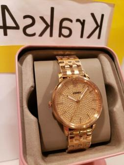 Fossil Women's Cambry Rose Gold Dial Watch - BQ3555