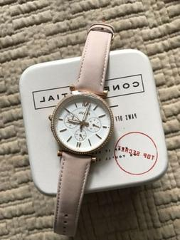 Fossil Women's ES4544 Carlie Multifunction Rose Gold-Tone Le