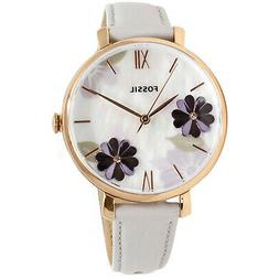 Fossil Women's Jacqueline ES4672 Rose-Gold Leather Japanese