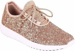 Forever Link Womens Rose Gold Synthetic with Synthetic Sole