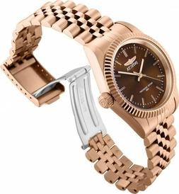 Invicta Women's Watch Specialty Quartz Brown Dial Rose Gold