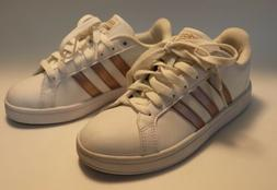 Women's Adidas Neo Rose Gold Shoes. Size 5-NEVER WORN!