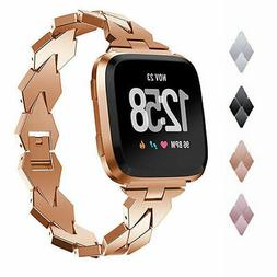 Wristband Bracelet Stainless Steel Strap Watch Band For Fitb